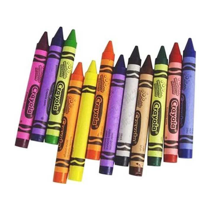 مداد شمعی 12 رنگ