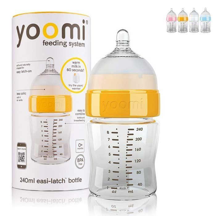 شیشه شیر 240 میلی لیتری Yoomi