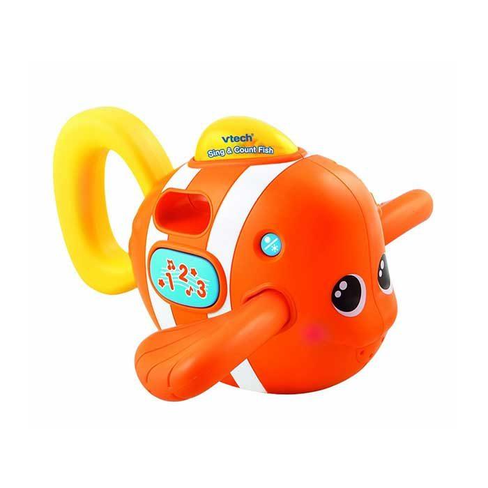 اسباب بازی موزیکال حمام مدل Fish