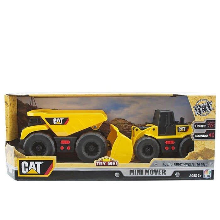 ماشین بازی کودک مدل کامیون و لودر