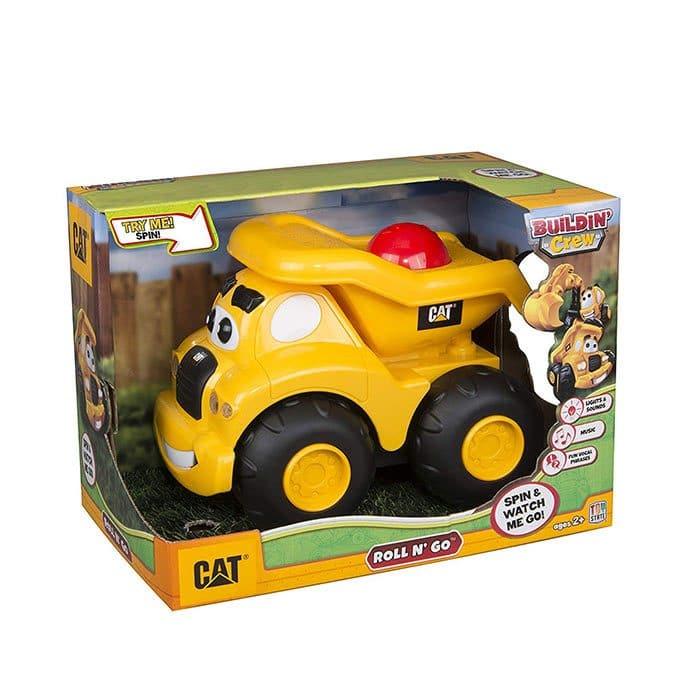 ماشین بازی کودک مدل کامیون کاترپیلار